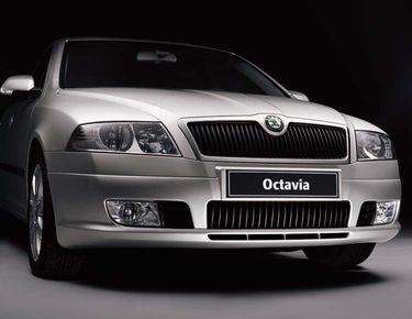 Редизайн в 2005 Skoda Octavia 2