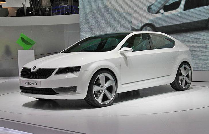 Концепт Skoda Octavia представленный в 2011 году