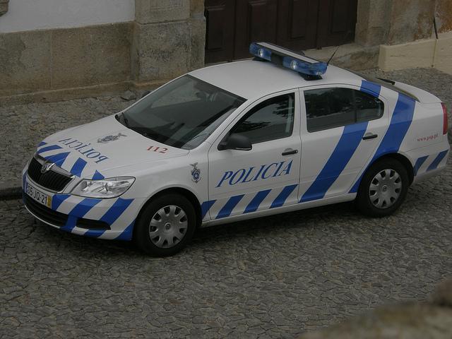 полиция Венгрии на skoda octavia tour