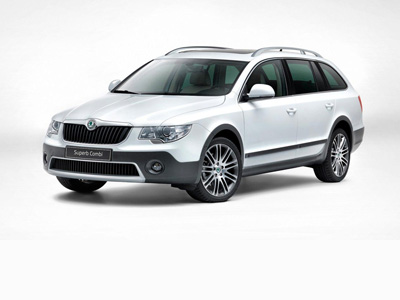 2013 Skoda Superb Outdoor 4х4