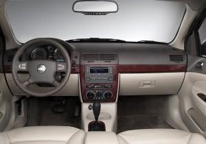 2005 Chevrolet Cobalt interior. X05CH_CB010