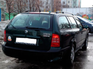 Skoda Octavia 2002 года