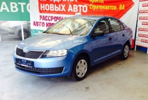 Skoda Rapid Active Pacific